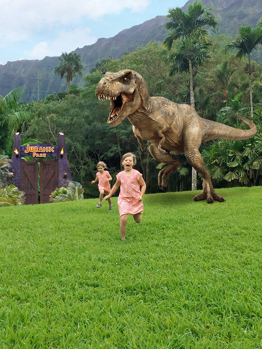 Fun At Jurassic Park